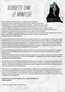 Télécharger le Manifeste des Georgettes