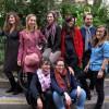 Georgette Sand le 3 novembre 2014 lors du lacement de la campagne Woman Tax